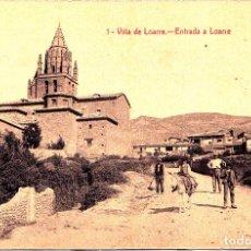 Postales: LOARRE (NAVARRA) - ENTRADA A LOARRE. Lote 288680478