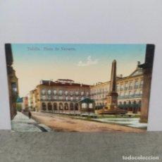 Postales: POSTAL DE TAFALLA - PLAZA DE NAVARRA. Lote 288690943