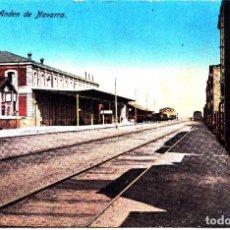 Postales: CASTEJON (NAVARRA) - ANDEN DE NAVARRA. Lote 289445373