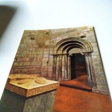 Postales: POSTAL MONASTERIO DE LEYRE CAPILLA DE LOS REYES. Lote 289458803