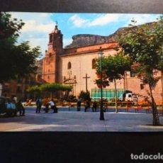 Postales: LODOSA NAVARRA IGLESIA DE SAN MIGUEL. Lote 289620608