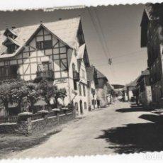Postales: POSTAL- BURGUETE- CARRETERA DE FRANCIA Y HOTEL LOIZU. Lote 294574838