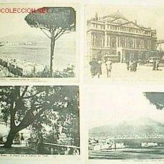 Postales: LOT 4 POSTALS ENVIADES DES D'ITÀLIA A AMBROSI CARRION ( AUTOR TEATRAL ). Lote 27299741