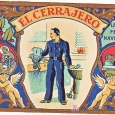 Postales: FELICITACION DE NAVIDAD EL CERRAJERO. Lote 10905856