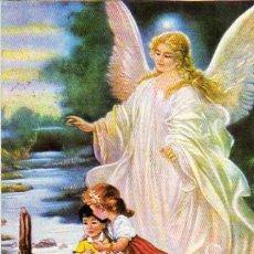 Postales: POSTAL ANGEL DE LA GUARDA. Lote 5441163