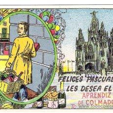 Postales: FELICITACION *APRENDIZ DE COLMADO*. Lote 7163310