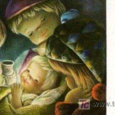 Postales: TARJETA DE FELICITACION - ILUSTRACION DE FERRER. Lote 7175380