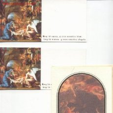 Postales: TRES FELICITACIONES NAVIDAD. Lote 1871316