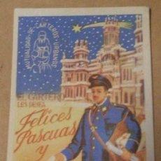 Postales: FELICITACIÓN DEL CARTERO. Lote 9716958