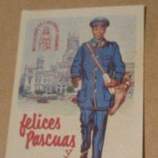 Postales: FELICITACIÓN DEL CARTERO. Lote 9717123