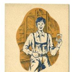 Postales: FELICITACIÓN NAVIDEÑA DEL APRENDIZ. Lote 19114311