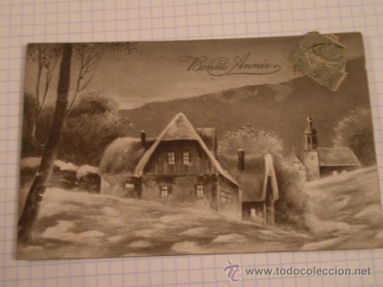 POSTAL CIRCULADA (Postales - Postales Temáticas - Navidad)