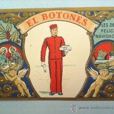 Postales: FELICITACION DE NAVIDAD EL BOTONES . Lote 10863850