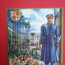 Postales: FELICITACION DE NAVIDAD--EL SERENO-. Lote 13082699