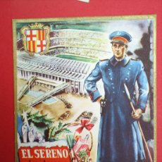 Postales: FELICITACION DE NAVIDAD --EL SERENO--. Lote 22926650