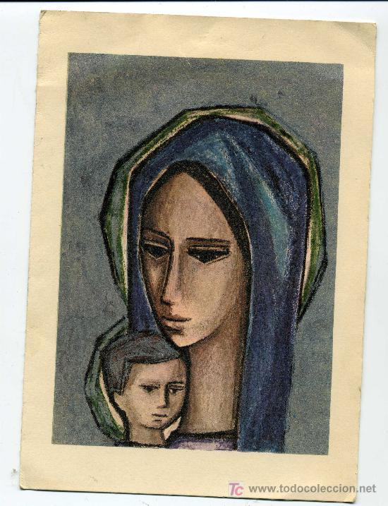 POSTAL GRAN TAMAÑO AÑO 1964 - FELICITACION CAJA DE AHORROS Y MONTE DE PIEDAD DE MADRID (Postales - Postales Temáticas - Navidad)