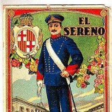 Postales: POSTAL DE OFICIOS DE NAVIDAD EL SERENO . Lote 12734698