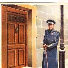 Postales: POSTAL DE OFICIOS DE NAVIDAD EL VIGILANTE MOVIL. Lote 12748734