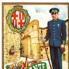 Postales: POSTAL DE OFICIOS DE NAVIDAD EL VIGILANTE . Lote 12748797