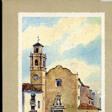 Postales: FELICITACIÓN DE NAVIDAD 1961, CARTONAJES SUÑER, IMAGEN IGLESIA DE SAN AGUSTÍN DE ALZIRA ..... Lote 13399742