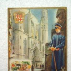Postales: FELICITACION DE NAVIDAD -EL SERENO-- SIN FECHA. Lote 13710147