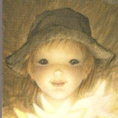 Postales: POSTAL FERRÀNDIZ AMB DEDICATORIA MANUSCRITA DE L'ARTISTA . 1992. 23X17CM.TEXT BILINGUE CATALÀ/ANGLÈS. Lote 15889515