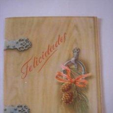 Postales: FELICITACION NAVIDAD 1958. Lote 14372188