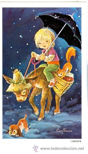 Felicitaciones De Navidad Anime.Felicitacion Navidad Constanza