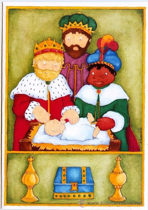 Felicitaciones De Navidad Con Los Reyes Magos.Felicitacion Navidad Reyes Magos