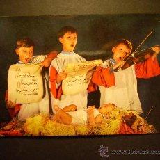Postales: 1991 NIÑOS CHILDREN ENFANTS CANTANDO VILLANCICOS DE NAVIDAD AÑOS 70/80 - MIRA MIS OTROS ARTÍCULOS. Lote 17647002