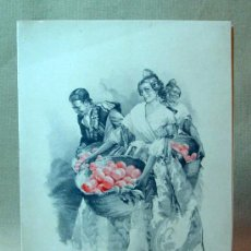 Postales: TARJETA NAVIDEÑA, CARTON, A COLOR, ARTURO BALLESTER, JDP, SERIE 3440, Nº 1, NARANJAS, DOBLE. Lote 18328351