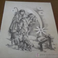 Postales: POSTAL NAVIDAD AÑOS 60... Lote 21873446