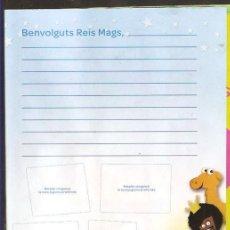 Postales: CARTA ALS REIS MAGS D'ORIENT. Lote 228439530