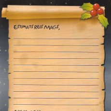 Postales: CARTA ALS REIS MAGS D'ORIENT. Lote 106162720