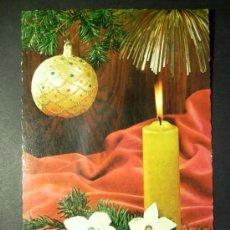 Postales: 7891 NAVIDAD POSTAL NAVIDEÑA POSTCARD AÑOS 60 CIRCULADA - TENGO MAS POSTALES. Lote 23466788