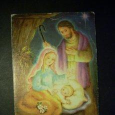 Postales: 7898 NAVIDAD POSTAL NAVIDEÑA PORTAL DE BELEN POSTCARD AÑOS 60/70 ESCRITA - TENGO MAS POSTALES. Lote 23467589