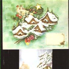 Postales: FELICITACION NAVIDAD TROQUELADA ZSOLT -AÑO 1973. Lote 27006830
