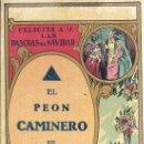 Postales: PS3360 FELICITACIÓN NAVIDEÑA DE GREMIOS 'EL PEÓN CAMINERO DE GAVÁ'. EN CASTELLANO. AÑOS 30. Lote 27553255