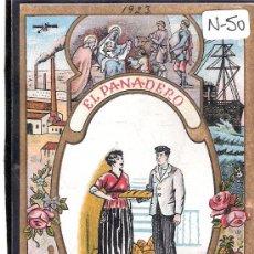 Postales: FELICITACION ANTIGUA NAVIDAD OFICIOS - EL PANADERO - VER REVERSO - ( N-50 ). Lote 28112024