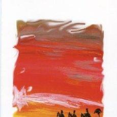 Postales: POSTAL NAVIDAD - JESUS AGUADO (1971) - REYES MAGOS - NUEVA - ARTE. Lote 28454123