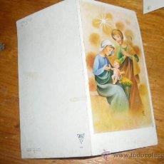 Postales: FELICITACION DE NAVIDAD, POSTAL NAVIDEÑA. . Lote 28766591