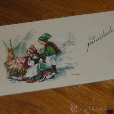 Postales: FELICITACION DE NAVIDAD, POSTAL NAVIDEÑA. . Lote 28766744