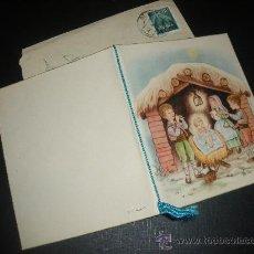 Postales: FELICITACION DE NAVIDAD, POSTAL NAVIDEÑA. . Lote 28808592