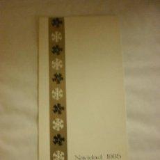 Postales: BONITA POSTAL DIPTICO DE NAVIDAD.ESCRITA. Lote 28920142