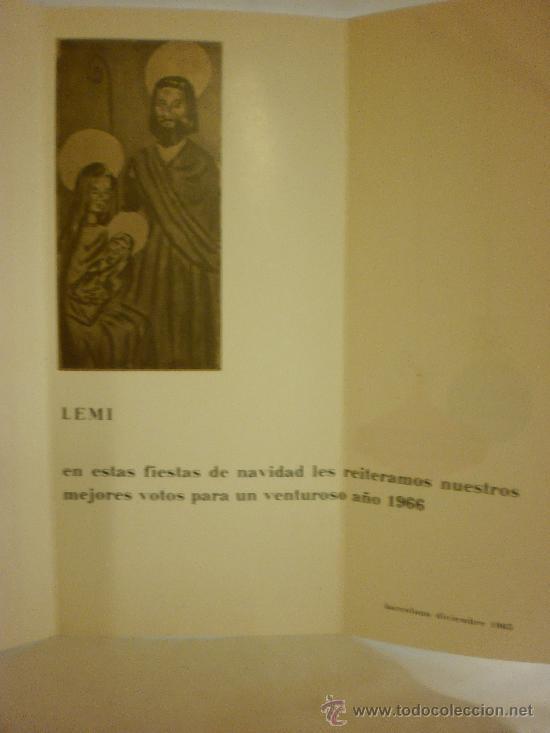 Postales: BONITA POSTAL DIPTICO DE NAVIDAD.ESCRITA - Foto 3 - 28920142
