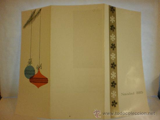 Postales: BONITA POSTAL DIPTICO DE NAVIDAD.ESCRITA - Foto 2 - 28920142