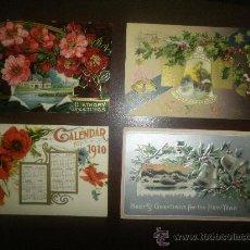 Postales: CUATRO POSTALES PRECIOSAS CIRCULADAS DE PRINCIPIOS SIGLO (1910-1911). Lote 29812783