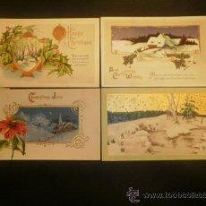 Postales: CUATRO POSTALES PRECIOSAS CIRCULADAS DE PRINCIPIOS SIGLO (1911-1913). Lote 29813029