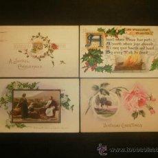 Postales: CUATRO POSTALES PRECIOSAS CIRCULADAS DE PRINCIPIOS SIGLO (1907-1911-1914-1915). Lote 29813066