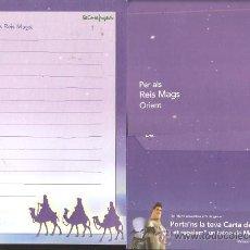 Postales: CARTA ALS REIS MAGS D ' ORIENT ( REYES MAGOS ). Lote 137513196